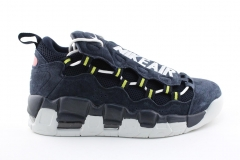 Nike Air More Money Navy Suede