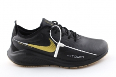 Nike Air Zoom Vomero 14 Black/Gold Leather