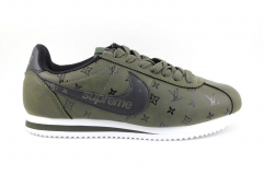 Nike Cortez x Supreme x LV Olive/Black