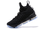 Nike LeBron 15 Black/Light Blue