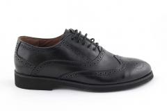 Rasht Oxford Black Leather