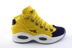 Reebok Question Mid Yellow/Navy