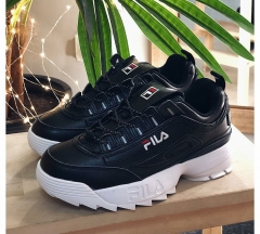 Fila Disruptor 2 Leather Black/White