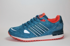 Adidas ZX 750 Blue/Orange Suede