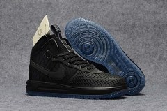 Nike Lunar Force 1 Duckboot Black/Blue