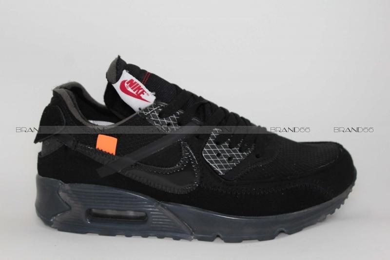 736f37b783a2 Кроссовки Nike Air Max 90 x Off White Black купить в Екатеринбурге ...