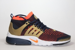 Nike Air Presto Flyknit Ultra Dark Blue/Orange/Gold