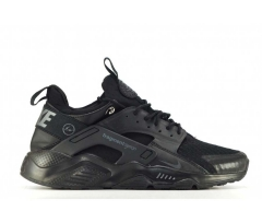 Nike Air Huarache Fragment Design Triple Black