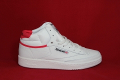 Reebok Classic Leather Mid White/Red