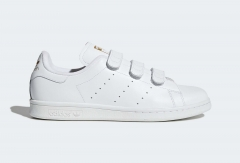 Adidas Stan Smith Strap White/Gold