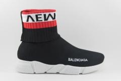 Balenciaga Speed Stretch-knit Mid Vements Black
