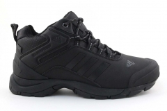 Adidas Climaproof Mid All Black (с мехом)