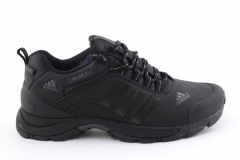 Adidas Climaproof Low All Black (с мехом)