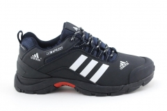 Adidas Climaproof Low Navy/White (с мехом)