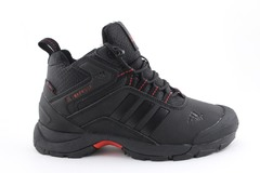 Adidas Climaproof Mid Black/Red (с мехом)