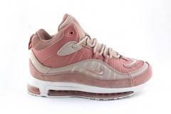 Nike Air Max 98 Mid Pink/Beige (с мехом)
