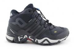 Adidas Terrex Fast R Mid Navy (с мехом)