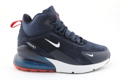 Nike Air Max 270 Mid Navy/White/Red (с мехом)