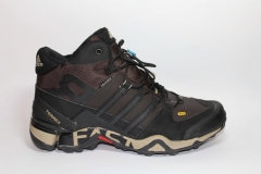 Adidas Terrex Fast R Mid Brown/Black (натур. мех)