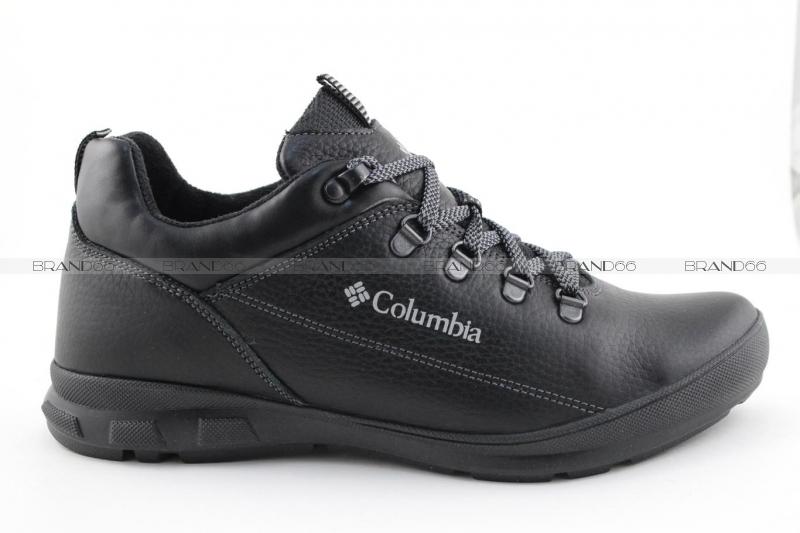 Мужские зимние ботинки Columbia Leather Shoe Black купить в ... 5d21f526e06