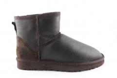 UGG Classic Mini Brown Leather