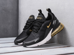 Nike Air Max 270 Black/White/Gold