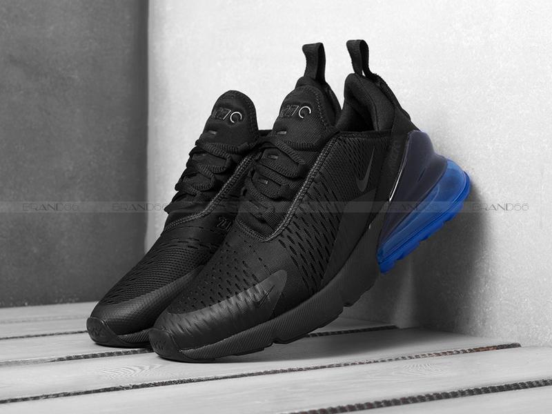Кроссовки Nike Air Max 270 Black Blue купить в Екатеринбурге — цены ... 855fe06c127
