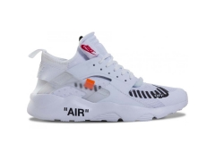 Nike Air Huarache Ultra x Off White White