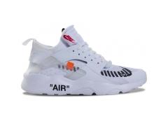 Nike Air Huarache Ultra x Off White White